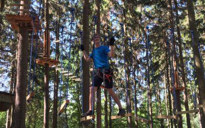 Sommerfest im Kletterpark
